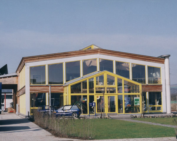 Commerce bureau de construction organique architecte udo heimermann ing nieur dipl m - Bureau ecologique viva shift ...
