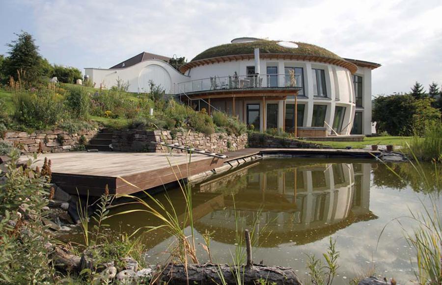 Passivhäuser, Energie Plus Häuser - Büro für organisches Bauen ...